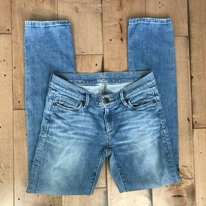 Loft Modern Straight Light Wash Jeans Denim 00/24